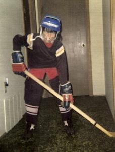 Hockey Player Andy