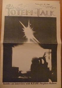 Totem Talk 1981