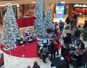 Mall Santa - Portland, OR 2012