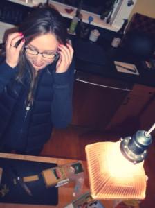 Chloe Gets Glasses!