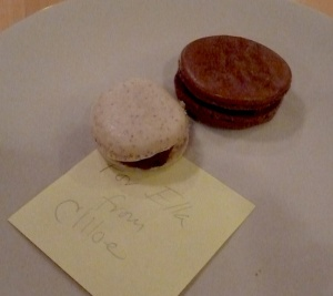 School-Made Macarons