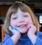 Smiling Ella, age 5