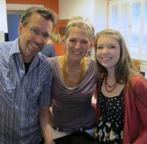 Andy, Melinda & Ella, 2013